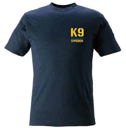 T-shirt K9 marinblå