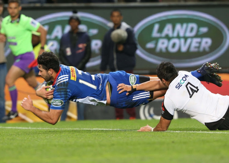 EW Viljoen of the Stormers during the Super Rugby match against Sunwolves at DHL Newlands on July 08, 2017 in Cape Town, South Africa.