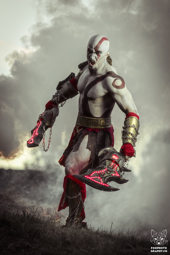 god of war cosplay