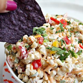 Roasted Corn and Jalapeño Dip.