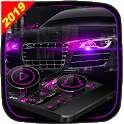 Dark Purple Black Car Launcher Theme 🚕 icon