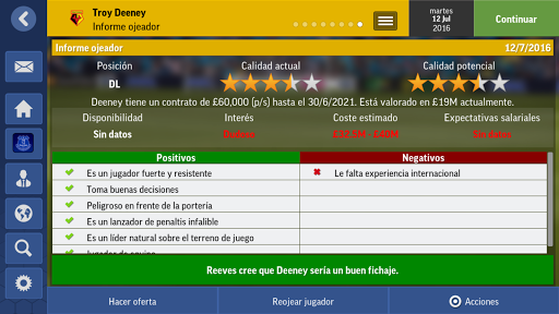 Football Manager Mobile 2017 para Android