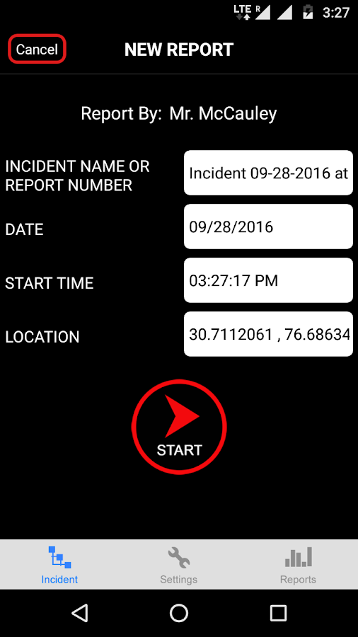 The Cop App- screenshot