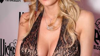 La actriz porno y modelo estadounidense Stormy Daniels.