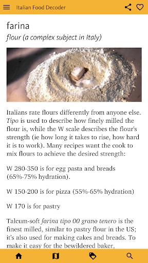 Italian Food Decoder screenshot 8