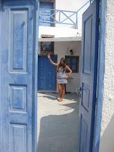 Photo: Welcome to Santorini!