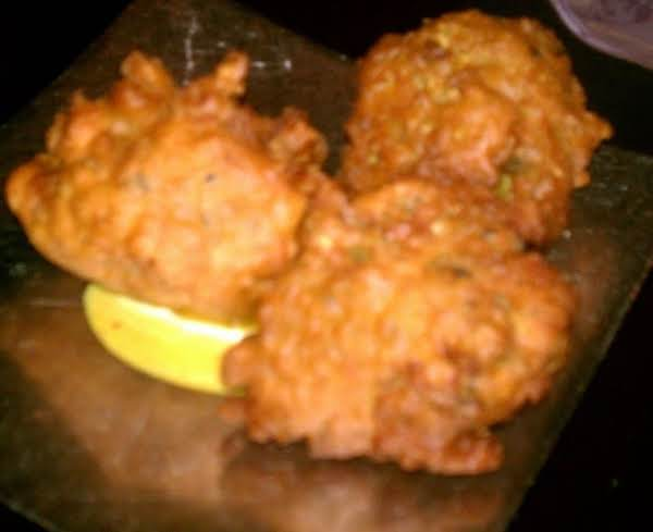 Haitian Chicken Fritters