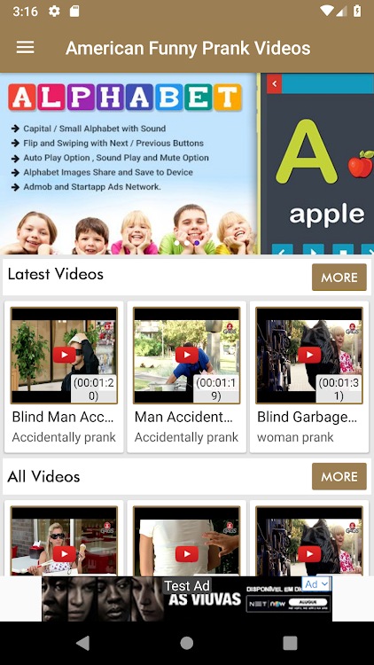 America Funny Prank Videos – (Android Apps) — AppAgg
