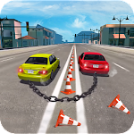 Chained Cars Stunt Game Icon