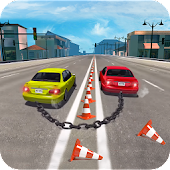 Chained Cars Stunt Game