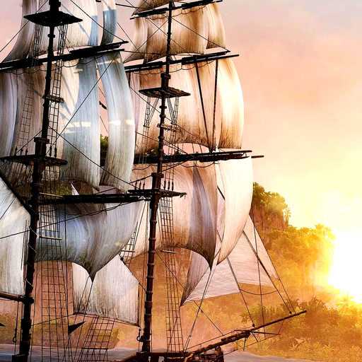 Pirates ship live wallpaper