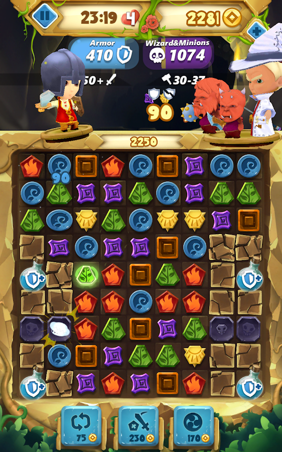 Fantasy Journey Match 3 Game- screenshot