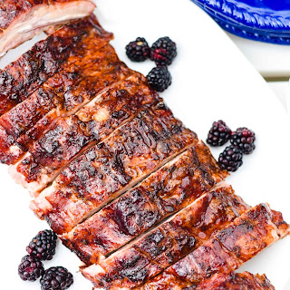 How to Make Yummy Blackberry Glazed Grilled Ribs.