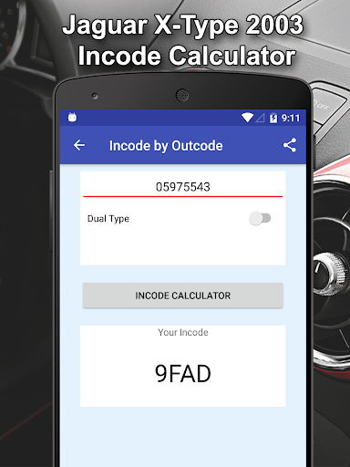 Incode by Outcode for Ford/Mazda/LandRover/Jaguar 1.2 screenshots 3