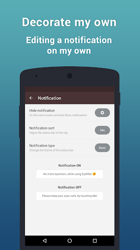 EyeFilter PRO - Bluelight app for Android screenshot