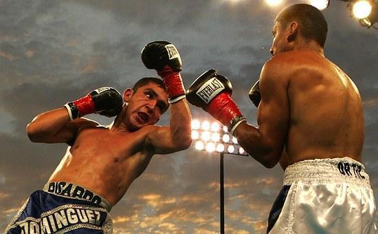 Box, Boxing Match, Uppercut