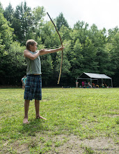 Photo: Archery practice at Fort Dummer State Park