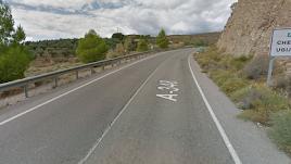 Captura de la carretera A-348, en la que ocurrió el suceso.