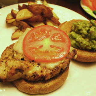 Grilled Chicken Sandwich with Avocado Relish.