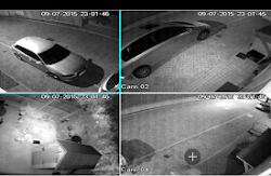 Multi-Angle Security Camera Footage