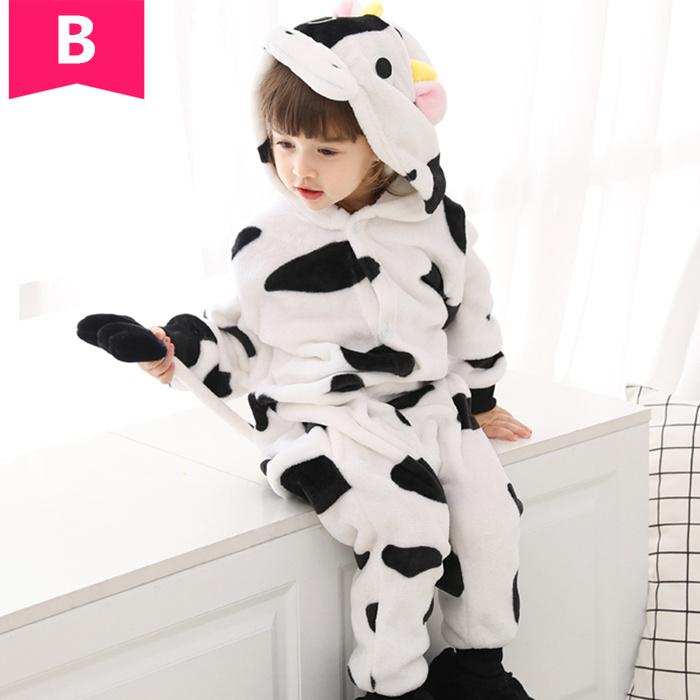 牛の子供用着ぐるみ