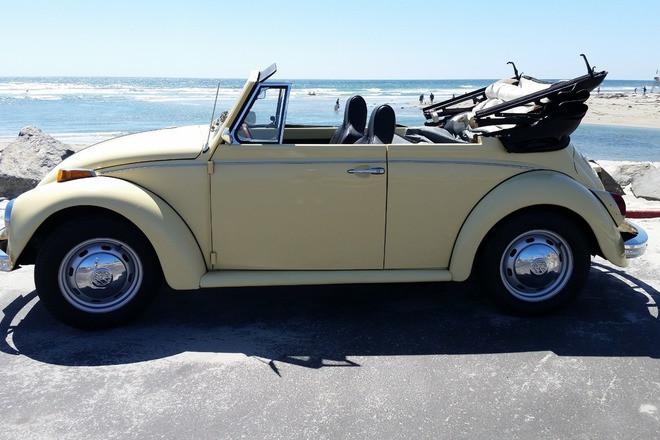 1970 Volkswagen Convertible Hire Encinitas