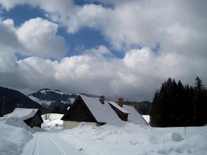 Photo: Donaudörfl - es gibt einige cm Neuschnee