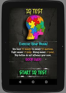 Best IQ Test screenshot