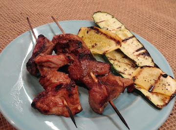 Grilled Pork Kabobs Recipe