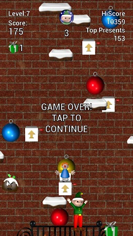 android Elf Jumper for Christmas Screenshot 4