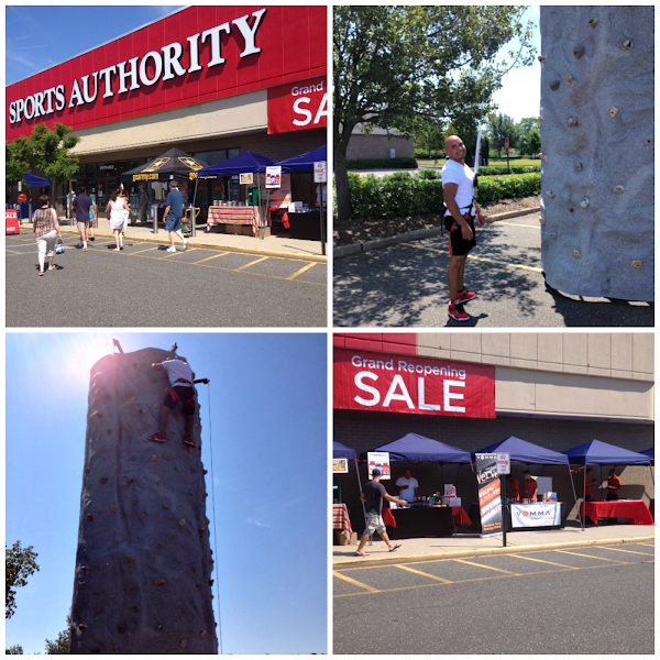 Photo: The +Piping Rock Vitamin Factory Outlethad a great time this weekend at+The Sports AuthorityBohemia Grand Reopening Event! A special thanks to all who came out and supported us and other local vendors!!  Did anyone try the rock wall? David, one of our wonderful Piping Rock associates, made it all the way to the top! We were rooting for him safely from the ground, of course. Thanks for all your help, David!  We look forward to seeing everyone at the next event!  #longisland #ronkonkoma #bohemia  #localevents