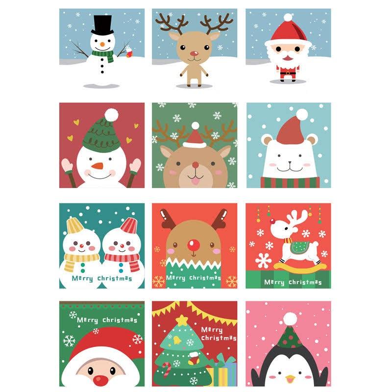 聖誕系列數字油畫套裝