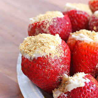 Cheesecake Stuffed Strawberries and Mother's Day