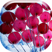 Beautiful Flying Balloons Live