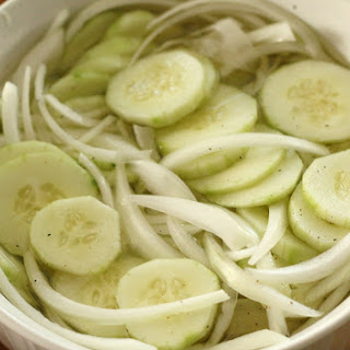 Cucumber Vinegar Salt Pepper Recipes