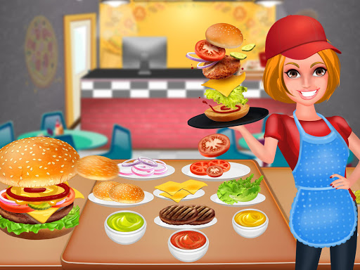 Fast Food Maker Kitchen : Burger Pizza Deliveryu00a0 1.0.1 screenshots 10