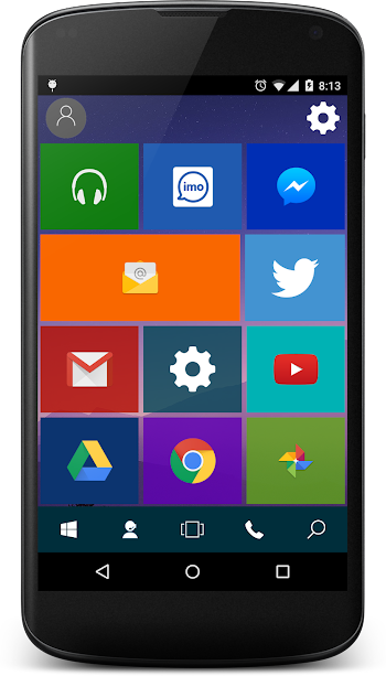 Win 10 Launcher : Pro- screenshot