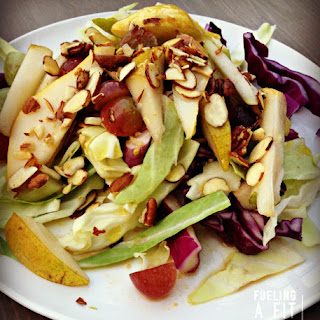 Pear and Grape Cabbage Salad