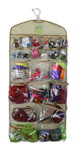 Clutter Keeper Deluxe 44 Pocket Hanging Organizer