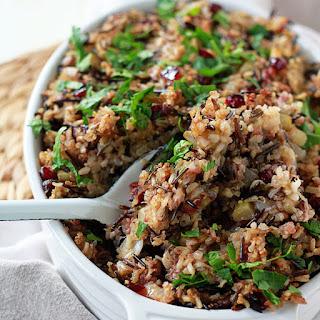 Herbed Wild Rice & Quinoa Stuffing.