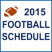 2015 Football Schedule (NFL)