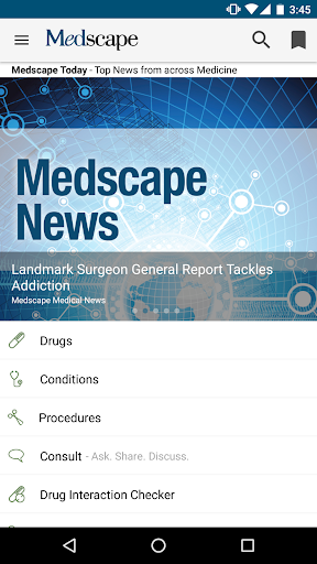 Medscape Screenshot