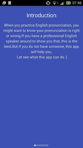 English Pronunciation Checker