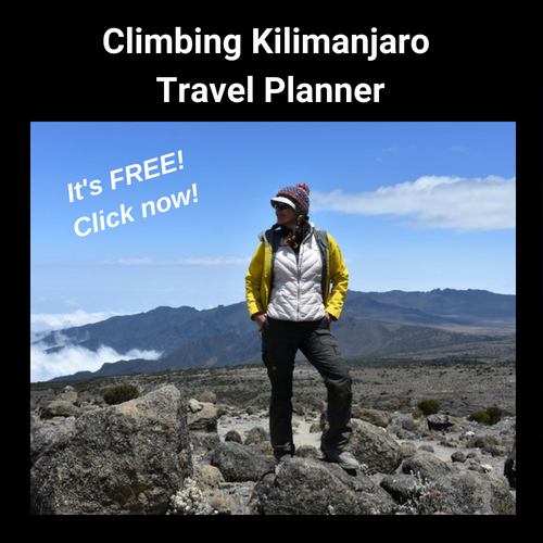 Click here for your FREE Kilimanjaro Travel Planner