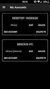 Remote Fingerprint Unlock Screenshot