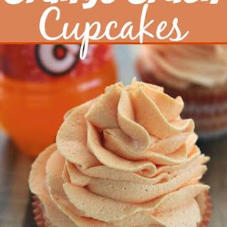Orange Crush Cupcakes.