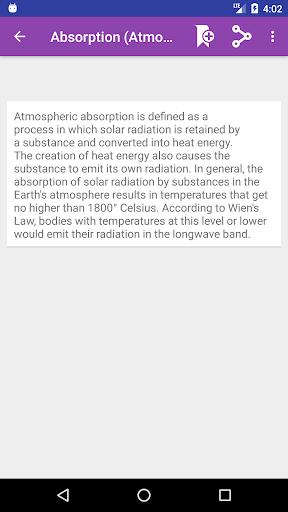 Screenshot 2 Geography Dictionary