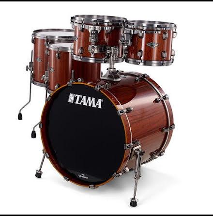 Tama Starclassic Performer Bubinga/Birch Exotic - PS52LUS-TGNT - Gloss Natural Tigerwood
