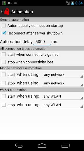 Your Freedom VPN Client 20191113-01 screenshots 5