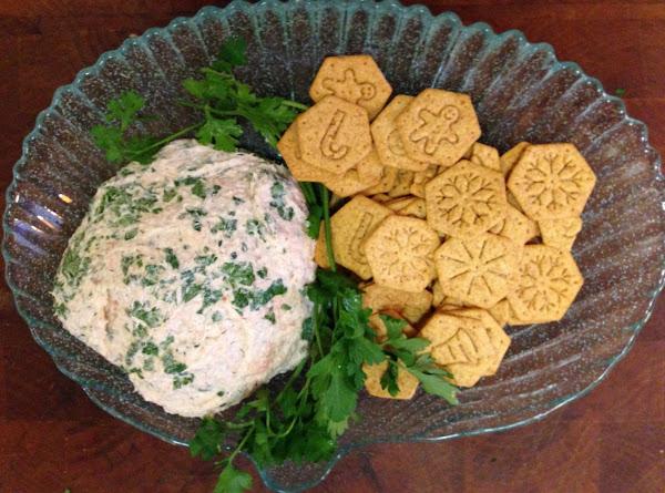Freshly Festive Salmon Ball Recipe